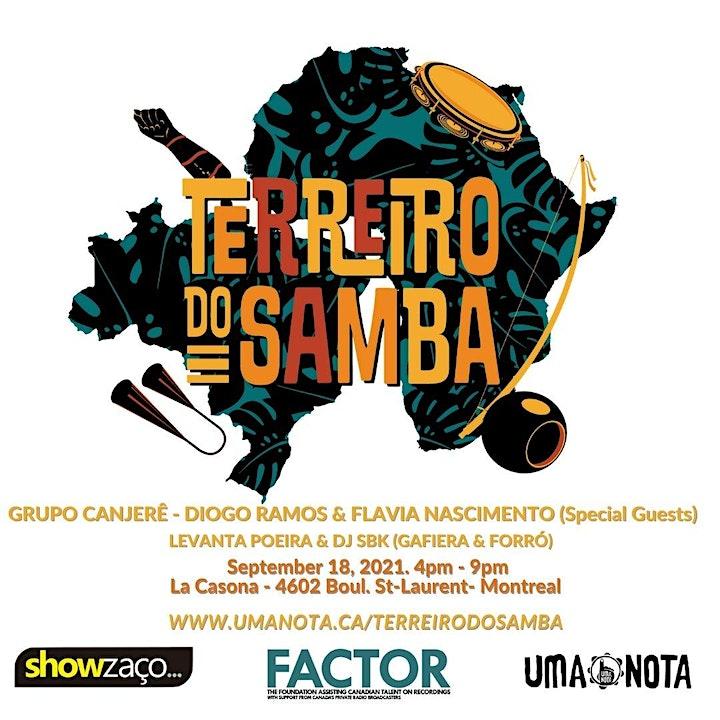 Terreiro do Samba - Montreal Edition image