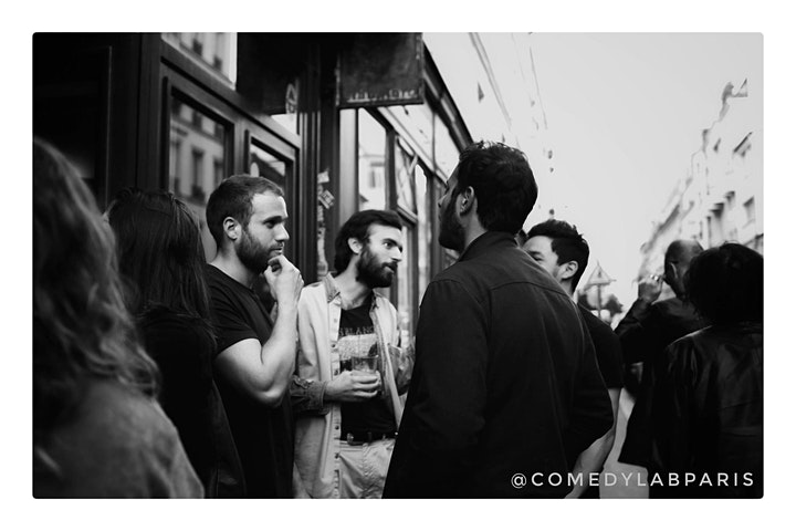 Comedy Lab Paris STANDUP COMEDY SHOW image