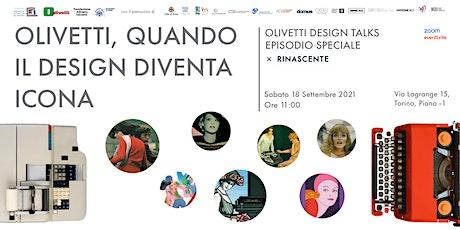 Olivetti, quando il design diventa icona biglietti