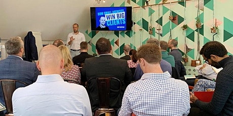 How Small Agencies Can Win Big Clients - Online Workshop - Oct 2021 tickets
