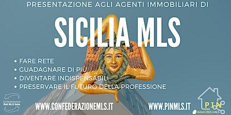 PRESENTAZIONE DI SICILIA MLS  - PINMLS biglietti