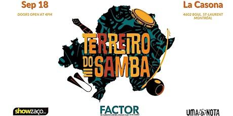 Terreiro do Samba - Montreal Edition tickets
