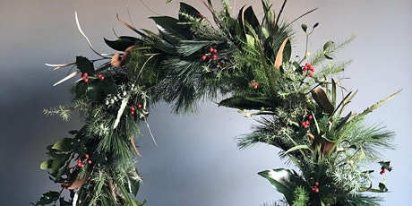 Bloom and Burn at Water Lane - Christmas Wreath Making Workshop tickets