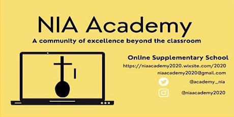 Nia Academy Launch tickets