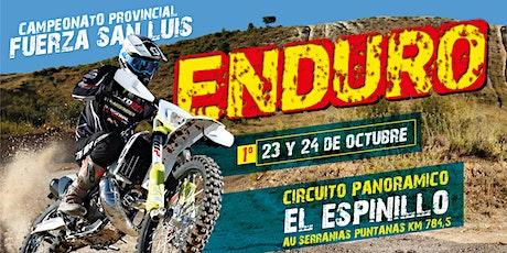 Campeonato de Enduro Fuerza San Luis entradas