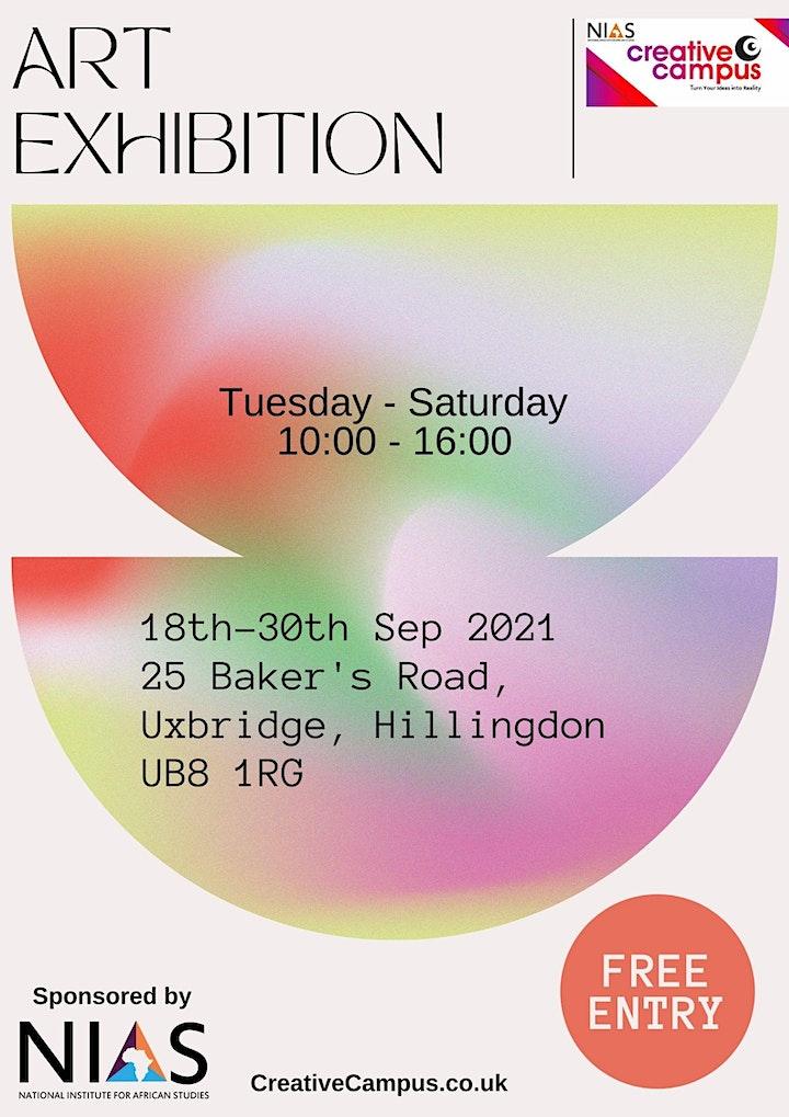 Art Exhibition - NIAS Creative Campus - Uxbridge, London image