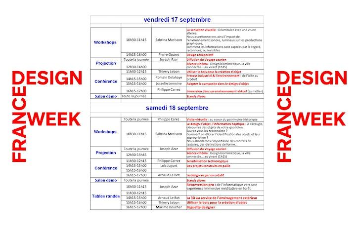 Image pour FRANCE DESIGN WEEK LAMBALLE