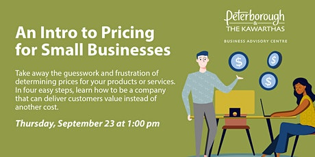 An Intro to Pricing for Small Businesses tickets