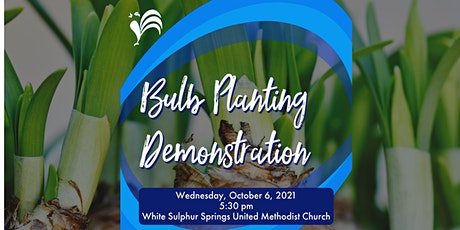 Bulb Planting Demonstration tickets