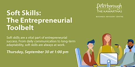 Soft Skills: The Entrepreneurial Toolbelt tickets