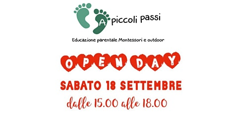 Open Day - Educazione Parentale Montessori e Outdoor biglietti