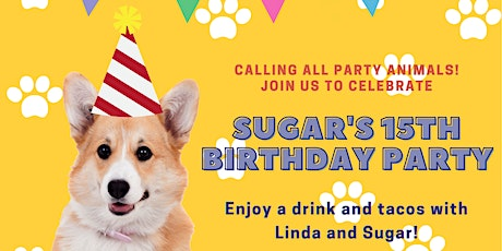 It's time to PAWTY with SUGAR and LINDA! tickets