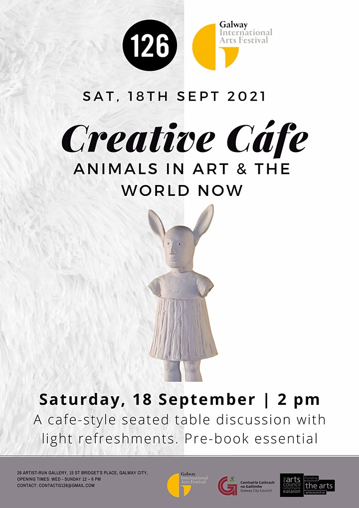 Creative Café, Animals in Art and the World. image