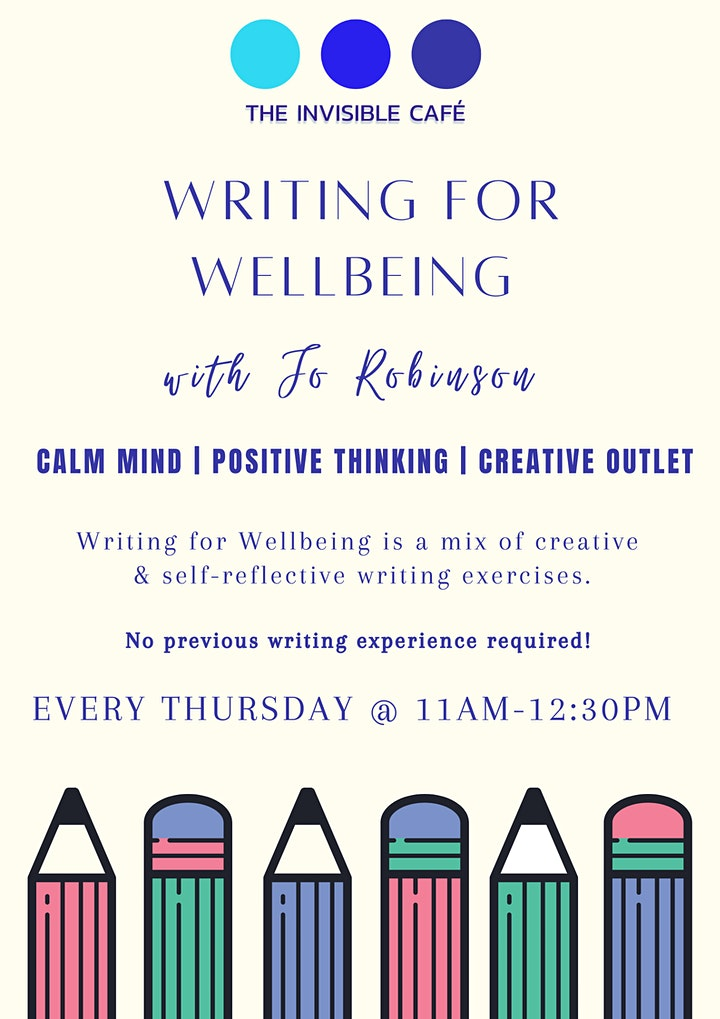 Writing For Wellbeing image