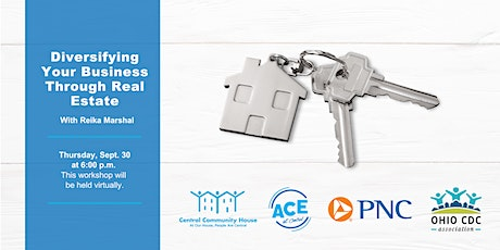 ACE Workshop: Diversifying Your Business Through Real Estate tickets