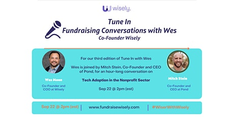 Wisely Webinar | Tech Adoption in the Nonprofit Sector (Free Event) tickets