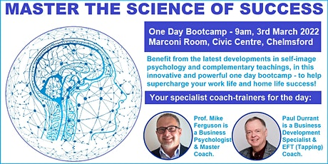 MASTER THE SCIENCE OF SUCCESS tickets