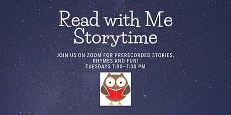PRC Virtual Storytime (on Zoom) tickets