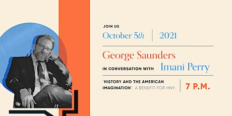 George Saunders: History and the American Imagination tickets