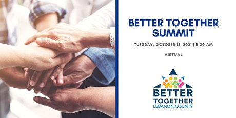 Better Together Lebanon Summit 2021 tickets