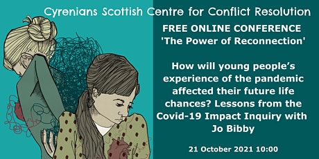 SCCR ONLINE CONFERENC Young peoples experience, the pandemic & life chances tickets