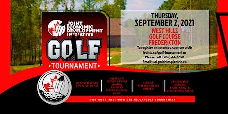 JEDI 2021 Annual Golf Tournament - hole registration tickets
