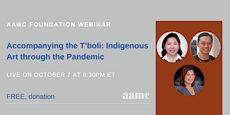 Accompanying the T'boli: Indigenous Art through the Pandemic tickets