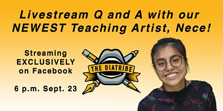 Livestream Q & A with The Diatribe's Newest Teaching Artist, Nece! tickets