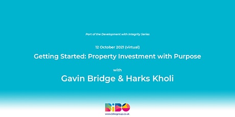 Getting Started: Property Investment with Purpose tickets