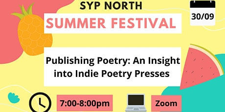 Publishing Poetry:  An Insight into Indie Poetry Presses Tickets