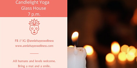 Candlelight Yoga at Glass House tickets