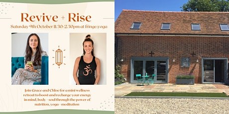 Revive & Rise - Nutrition & Yoga Wellness Day Retreat tickets
