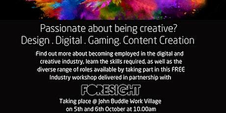 Digitial & Creative Industry Taster tickets