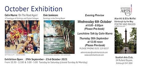 October Exhibitions tickets
