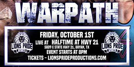 WARPATH presented by Lions Pride Sports tickets
