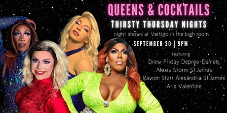 Queens & Cocktails | Thirsty Thursday Nights tickets