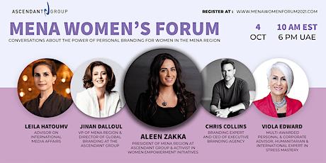MENA Women's Personal Branding Virtual Forum tickets