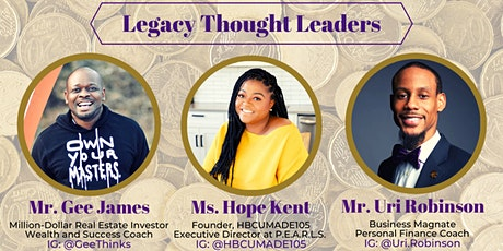 YPB: The New LEGACY Experience: Lessons on Advancing Generational Wealth tickets