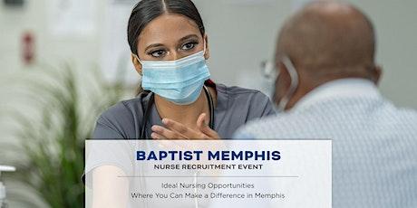 Baptist Memphis Nurse Recruitment Event tickets