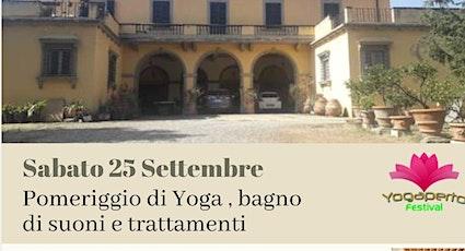 Yoga a Villa Castellaccio biglietti