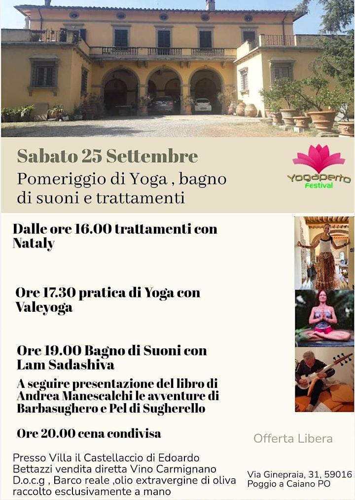 Immagine Yoga a Villa Castellaccio