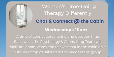 Women's Time - Chat & Connect 10am Wednesdays tickets