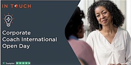 Corporate Coach International Virtual Open Day tickets