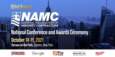 NAMC 52nd Annual Conference & Awards Ceremony - Sponsorship tickets