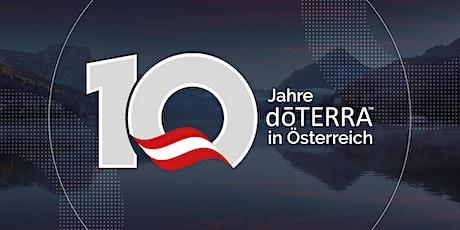 10 Jahre dōTERRA in Österreich – wir feiern eine Woche lang Tickets