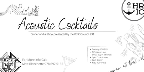 Acoustic Cocktails tickets