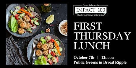 First Thursday Lunch Meet & Greet at Public Greens tickets