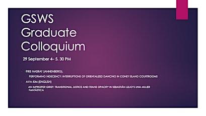 GSWS Graduate Colloquium: Pris Nasrat (Annenberg) and Ava Kim (English) tickets