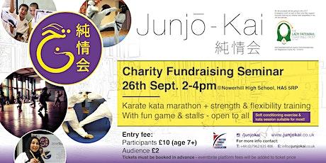 Karate marathon & soft exercise training- Charity fundraising seminar tickets