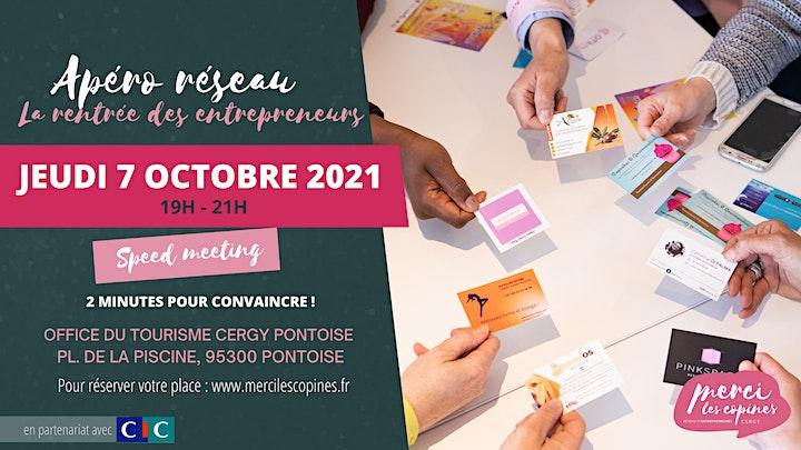 Image pour Apéro réseau 7 octobre 2021 CERGY